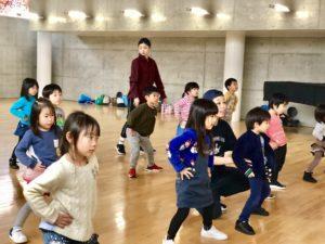 ダンススタジオグローアップ 東台幼稚園教室 レッスン風景